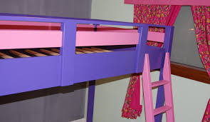Build A Bear Loft Bed With Desk by Ana White Sleep And Play Loft Bed Diy Projects