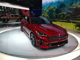 kia supercar toyota camry kia stinger and kia k900 at the 2017 naias album