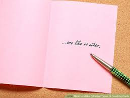 Greeting Pictures How To Make Different Types Of Greeting Cards 12 Steps