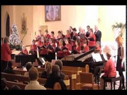 a candlelight st catholic church choir 2014