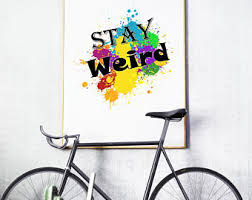 Quirky Home Decor Quirky Wall Art Etsy