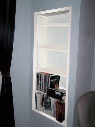 how to make a corner bookcase how to create recessed shelving 9 steps