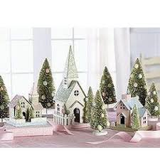 Dolls House Easter Decorations by Easter Village W Dept 56 Houses Displayed W Great Detail