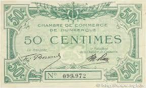 chambre de commerce dunkerque 50 centimes régionalisme et divers dunkerque 1918 jp 054 01