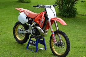 1996 cr250 mcgrath replica rebuild old moto motocross