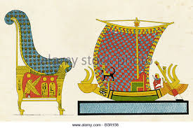 Egyptian Chair Color Lithograph Stock Photos U0026 Color Lithograph Stock Images Alamy