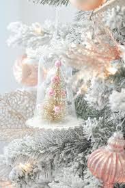Blush Pink Decor best 20 pink christmas tree ideas on pinterest pink christmas