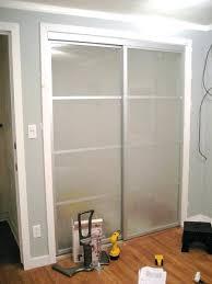 Sliding Closet Doors Installation Replacing Closet Doors Styledbyjames Co