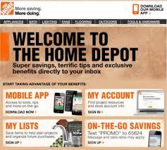 Home Depot Home Design App Email Newsletter Design Fails To Avoid Creative Market Blog
