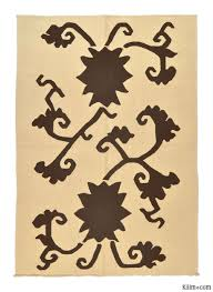 Large Kilim Rugs Large Size Floral Kilim Rugs Overdyed Vintage Rugs Hand Made