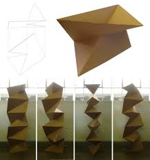 cardboard origami wall 2 by scottdpenman origami pinterest
