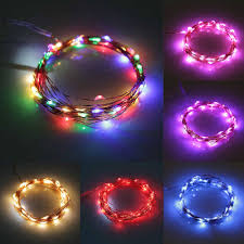 wholesale 4m 40led copper wire string light waterproof 3 aa