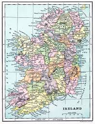 elegant printable map of ireland 29 for line drawings with