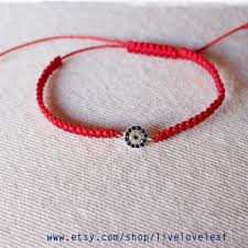 red bracelet with eye images Best turkish nazar products on wanelo jpg