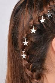 girls hair rings images Sweet braid hair charm accessories leaf star hair clips pins head jpg