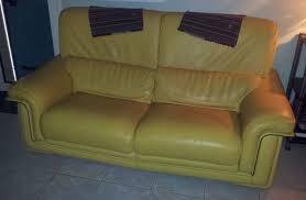 canape jaune cuir canape jaune cuir canap style brzilien au cuir jaune with