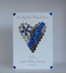 45th wedding anniversary sapphire 45th 65th wedding anniversary card husband friends