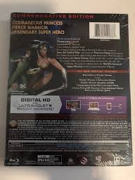 wonder woman blu ray dvd 2017 commemorative edition only best