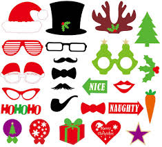 Halloween Photo Booth Props New Funny Diy Photo Booth Props Mustache Glasses Snowflake On A
