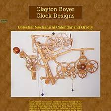 wood work wooden clock plans clayton boyer pdf plans