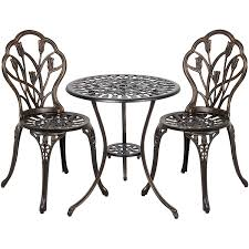 How To Clean Cast Aluminum Patio Furniture Amazon Com Best Choice Products Outdoor Patio Furniture Tulip