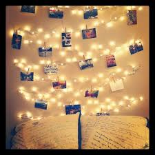 lights on wall with pictures diy fairy lights decor gpfarmasi dbff160a02e6