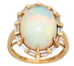 turquoise opal engagement rings rings u2014 jewelry u2014 qvc com