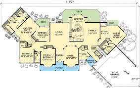 house plan with in suite 3067d architectural