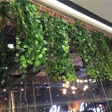 ivy home decor 8 2feet hanging ivy vine artificial plant silk leaf garland home