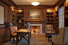 Home Office Library Design Home Design Ideas - Home office library design ideas