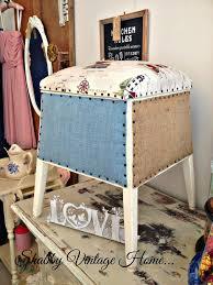 Nautical Storage Ottoman 34 Best Shabby Vintage Home Blanket U0026 Storage Boxes Images On