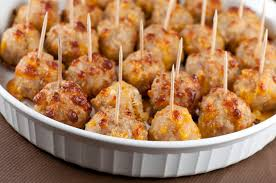 easy appetizers sausage cheese balls wishes and dishes