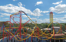 Six Flags In Usa Wonder Woman Six Flags Making A Golden Lasso Roller Coaster Time