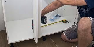 meuble cuisine angle brico depot comment monter les élements bas d une cuisine en kit réponses d