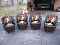 Whiskey Barrel Chairs 9 Best Trunk Creations Images On Pinterest Suitcase Chair Old