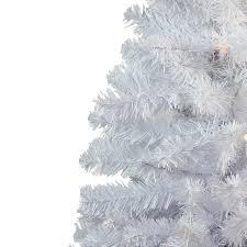 amazon com 3 u0027 snow white pine artificial christmas tree unlit