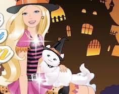 barbie in halloween barbie games