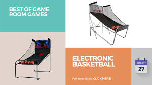 Game Room Deals - electronic basketball best of game room games youtube