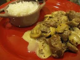 cuisiner rognons recette rognons de veau sauce moutarde et riz parfumé à la