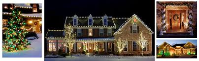 christmas light decoration company residential holiday decorating and lighting services by christmas