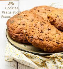 cuisine sans sucre maxi cookies sans sucre blanc et sans gluten cookies sans sucre