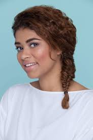 hairstyles for thick curly hair cool and easy styles to try