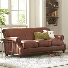 brown leather sofa and loveseat sofas joss u0026 main