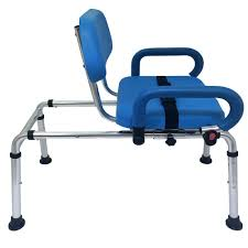 Toilet To Tub Sliding Transfer Bench Carousel Sliding Transfer Bench With Swivel Seat Free Online