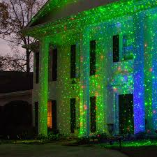 Christmas Outdoor Light Projector by Outdoor Christmas Decorating Ideas Yard Envy
