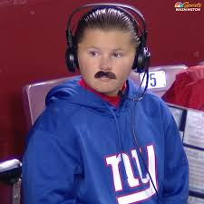 hilarious ben mcadoo at fedex field for thanksgiving