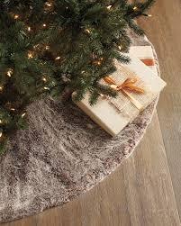 faux fur tree skirt faux fur christmas tree skirt