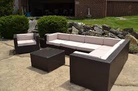 Fake Wicker Patio Furniture - furniture resin wicker patio furniture on pinterest with grey