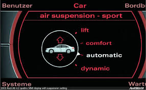 2004 audi a8 suspension problems how to bypass suspension compressor audiworld forums