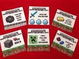 minecraft s day cards diy minecraft party cards cards diy and cricut